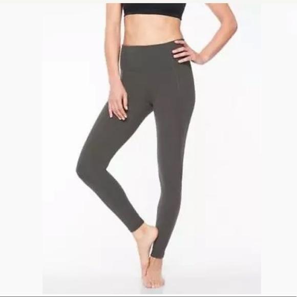 ea29e1d9e7 Athleta Pants | Stash Pocket Salutation Tight Nwt 89 Sz S | Poshmark